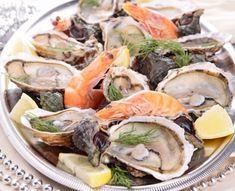 Comment bien composer son plateau de fruits de mer ? ©Fotolia Clem, Asian Recipes, Ethnic Recipes, Fresh Rolls, Seafood, Diners, Mousse, France, Boutique