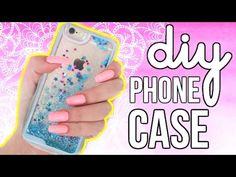DIY LIQUID GLITTER-FILLED PHONE CASE! - YouTube