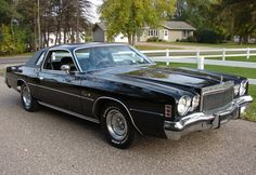 1976 Chrysler Cordoba , Triple Black, Loaded With Sunroof! See more about Cars and Black. Chrysler Voyager, Chrysler Cordoba, Counting Cars, Chrysler Cars, Mens Toys, Classy Cars, Triple Black, Sweet Cars, Antique Cars