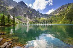Fototapety na wymiar galeria: Góry i jeziora