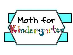 Math resources, blogs and ideas for Kindergarten math. Enjoy this collaborative board!