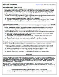 resume of ceo software senior vp sales software colors
