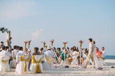 wedding photo at Bamboo island, Krabi  photographed by www.lovedezign.com