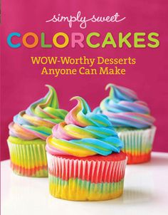 Simple Sweet ColorCakes
