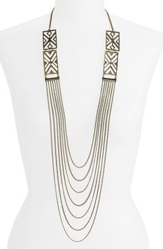 Draped Art Deco Chain Necklace @ Nordstrom by Stephan & Co.