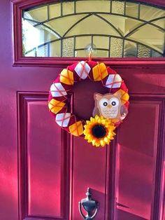 Owl Wreath ❤️ Door Decor