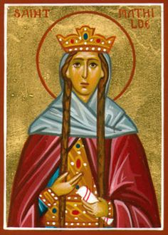 St. Matilda.  Her feast day is March 14 and, among other things, it's appropriate to pray to her to ease fear of disappointing one's children.  Traditionally, she's the patron saint of large families.