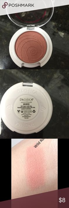 Pacifica Wild Rose Blush New and never used. Coconut and rose infused blush. Rose color shade. No box. pacifica Makeup Blush
