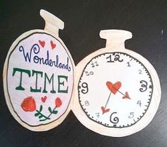 alice in wonderland crafts - Google Search