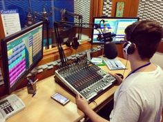 Inscrições abertas para as oficinas de rádio - Turmas de 2017