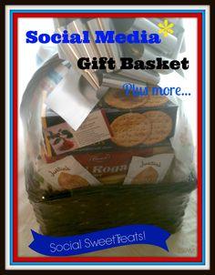 #Social Media, #Gift Basket, #Social Media Gift Basket, #Social Media gifts, #Gift baskets, #Steve Jobs, #Blogger