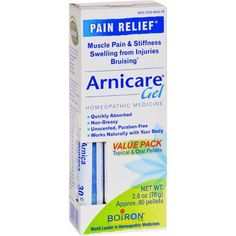 Miracle Plus Arnica Bruise Cream For Bruising New 4oz & Bumps Swelling