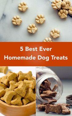5 Best Ever Homemade Dog Treats