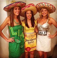 Halloween costume- tequila shot