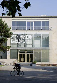 Wien Museum Karlsplatz, Foto: Hertha Hurnaus © Wien Museum Karlsplatz, Museum, Vienna, Architecture, Building, Places, Outdoor Decor, Modern, Design