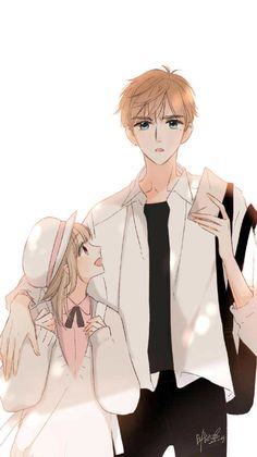 Love like cherry blossoms- Xia Yi and Lu Lu Anime Cupples, Anime Angel, Anime Kawaii, Anime Guys, Anime Siblings, Anime Child, Anime Art Girl, Anime Couples Drawings, Anime Couples Manga