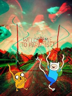 Psychedelic Adventure Time