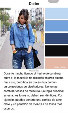del color denim ?