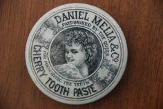 Daniel Melia & Co Cherry Tooth Paste Pot Lid