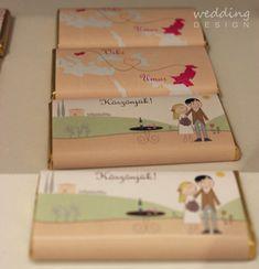 Chocolate wedding favour - Csokis esküvői köszönetajándék Wedding Favours, Wedding Designs, Favors, Gift Wrapping, Gifts, Paper Wrapping, Presents, Wedding Keepsakes, Wrapping Gifts