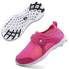 EQUICK Kids Water Shoes Boys & Girls Aqua Shoes Swim Shoes Athletic Sneakers Lightweight Sport Shoes (Toddler/Little Kid/Big Kid) - Lovely Novelty Water Shoes For Kids, Kids Running Shoes, Baby Girl Shoes, Girls Shoes, Kids Fashion Wear, Aqua Shoes, Toddler Sneakers, Kids Wear, Athletic Shoes