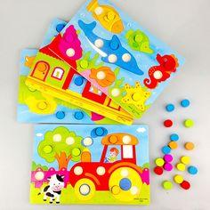 나무 지혜 놀이/퍼즐 보드 만화 장난감 나무 퍼즐 퍼즐 어린이 교육 학습 교육 장난감/선물 D009