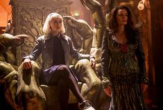 Chilling Adventures of Sabrina - Publicity still of Kiernan Shipka & Michelle Gomez. The image measures 3600 * 2400 pixels and was added on 24 January Archie Comic Books, Archie Comics, Cloud Template, Lucy Davis, Teen Witch, Kiernan Shipka, Comic Book Collection, Sabrina Spellman, Popular Shows