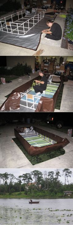 Build Your Own PVC Boat Project – Thrifty Functional  Floats - The Homestead Survival - fishing - boat- boating