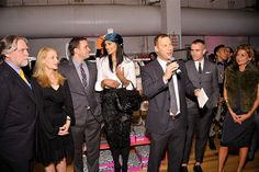Co-Chairs welcome guests at the F4A Opening Night Benefit by housingworks, via Flickr