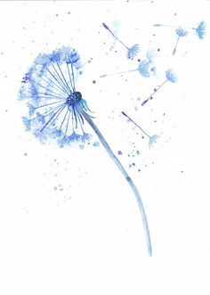 Original artwork of a single blue himalayan poppy rendered in pen, ink and watercolor. Watercolor Cards, Watercolor Flowers, Ink Painting, Watercolor Paintings, Watercolors, Aquarell Tattoos, Painting Inspiration, Wallpaper Backgrounds, Flower Art