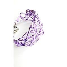 Lavender Wire Cuff Bracelet Pastel Purple Jewelry ($24) ❤ liked on Polyvore featuring jewelry, bracelets, handcrafted wire jewelry, wire cuff bracelet, purple bangles, pastel jewelry and wire jewelry