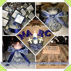 Marc's First Communion Decorations