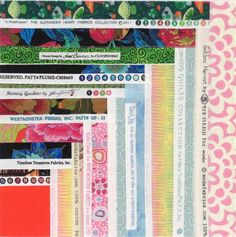 Button Box Selvage Quilt Pattern, Quilt Pattern, Upcycle, Recycle, Log Cabin Pattern, PDF, qtm