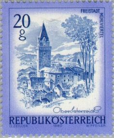 Sello: Castle keep of Freistadt, Upper Austria (Austria) (Beautiful Austria) Mi:AT 1649,Yt:AT 1478,ANK:AT 1680