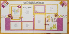 Cheerful and full of SMILES with PENELOPE Kit of the Month.  Pages 5 & 6 ...