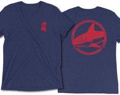 Ole Miss Fins Up Landsharks Short Sleeve T-shirt Ole Miss, Tanks, Graphic Tees, Feelings, Sweatshirts, Sleeve, T Shirt, Etsy, Collection