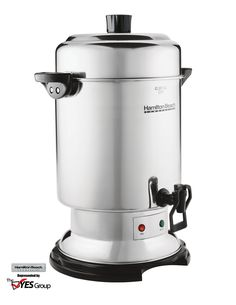 Coffee Urn 60 Cup in Stainless Steel by Hamilton Beach Commercial