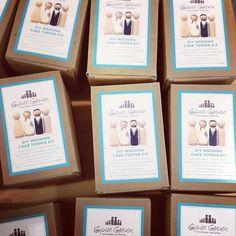"""En breve en @Madewithlof: kits para personalizar los """"muñequitos de la tarta"""""""