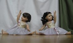 Couture American Girl ballet dresses