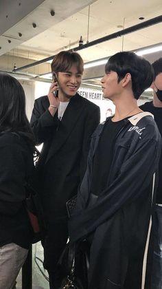 mingyu and joshua Mingyu Wonwoo, Seungkwan, Woozi, Joshua Seventeen, Seventeen Debut, Kim Min Gyu, Choi Hansol, Joshua Hong, Mingyu Seventeen