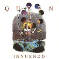 Queen, Innuendo, ilustraciones de Grandville