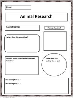 Computer lab: Common Core Animal Research Graphic Organizer Teaching Writing, Teaching Science, Science Activities, Writing Activities, Teaching Tools, Geography Activities, Science Writing, Primary Science, Math Games