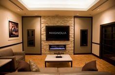 Home entertainment room ideas theater room ideas basement movie room ideas bedroom home theater medium size . home entertainment room ideas Home Theater Rooms, Living Room Theaters, Livingroom Layout, Living Room Design Modern, Accent Walls In Living Room, Fireplaces Layout, Home Theater Decor, Living Room Home Theater, Theatre Room