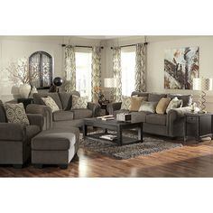 I really like the colors of this living room. Darby Home Co Cassie Configurable Living Room Set New Living Room, Living Room Sets, Living Room Interior, Home Interior, Living Room Designs, Living Room Decor, Kitchen Living, Small Living, Interior Design