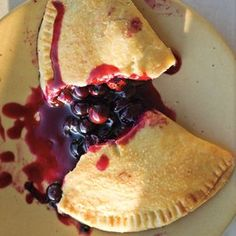 Blueberry Hand Pies.... With Huckleberries, perhaps? :))))
