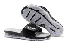 2015 NEW NIKE LEBRON JAMES 10 SLIDE AIR MAX OUTDOOR SLIPPERS MENS FLIP FLOP WHITE BLACK ONLINE, Only$70.00 , Free Shipping! http://www.jordanse.com/2015-new-nike-lebron-james-10-slide-air-max-outdoor-slippers-mens-flip-flop-white-black-online.html