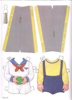 1985 Reproduction of BEST FRIENDS Paper Dolls Publisher: Dover <> Original 1930s by Queen Holden 8 of 16