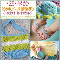 Beach Crochet Patterns Featured