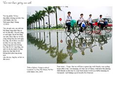 """Photo: """"Going to school""""   Photo by Phan Anh - (C) 2011"""