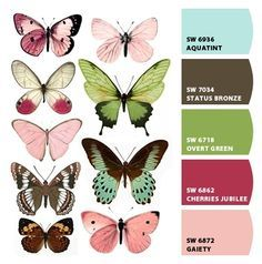 Forums / Images & Graphics / Butterflies - Swirlydoos Monthly Scrapbook Kit Club ideal for butterfly shapes for tatto'd thigh Art Papillon, Butterfly Art, Butterfly Images, Green Butterfly, Butterfly Pattern, Butterfly Painting, Paper Butterflies, Vintage Butterfly Tattoo, Watercolour Butterfly